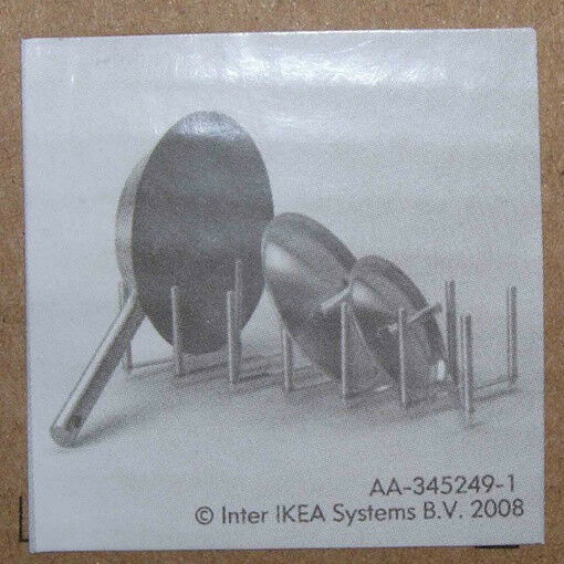 Ikea Pot Lid Organizer Plate Holder Adjustable Length