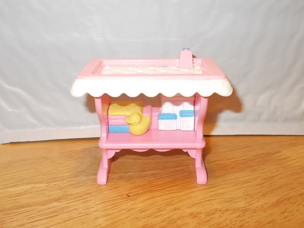 Fisher-Price Loving Family BABY DRESSING TABLE Nursery
