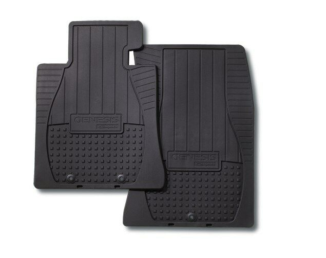 Oem 10 13 Hyundai Genesis Coupe All Weather Floor Mats