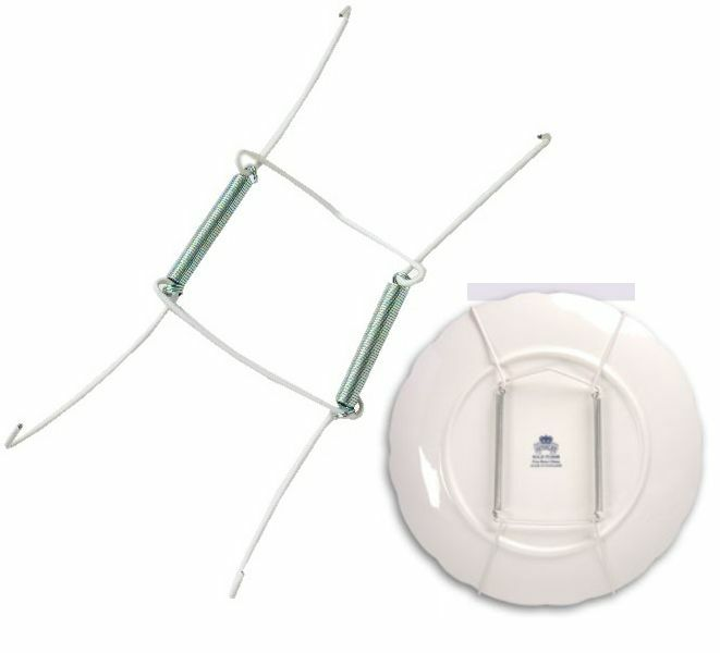 PLATE SPRING FLEXIBLE WIRE WALL DISPLAY HANGER HOLDER