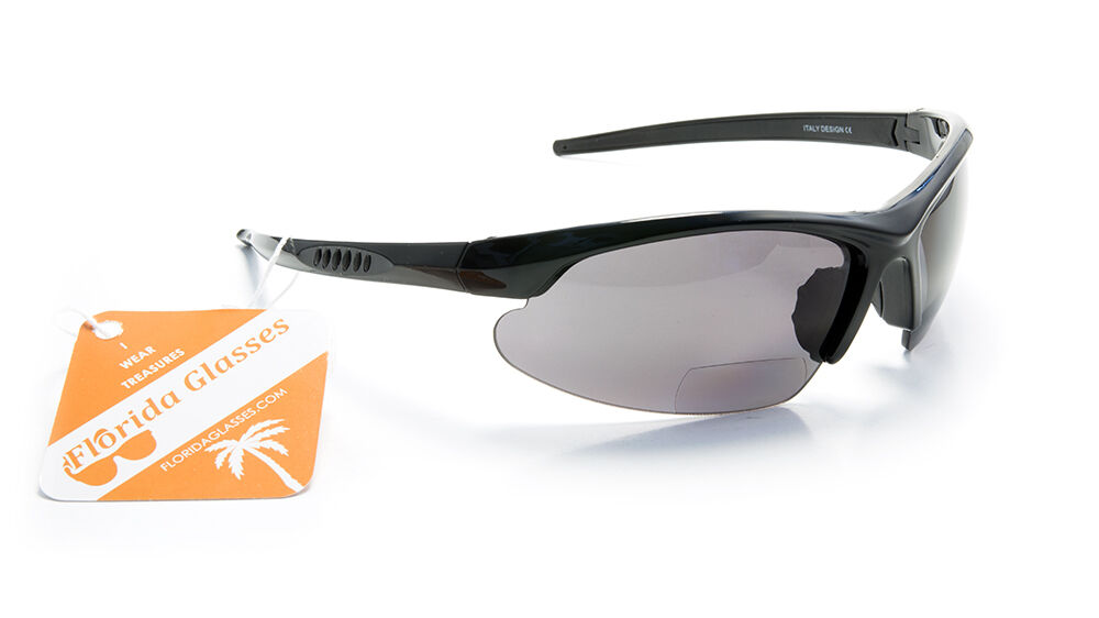 Nwt bifocal polarized reading sunglasses for Bifocal fishing sunglasses