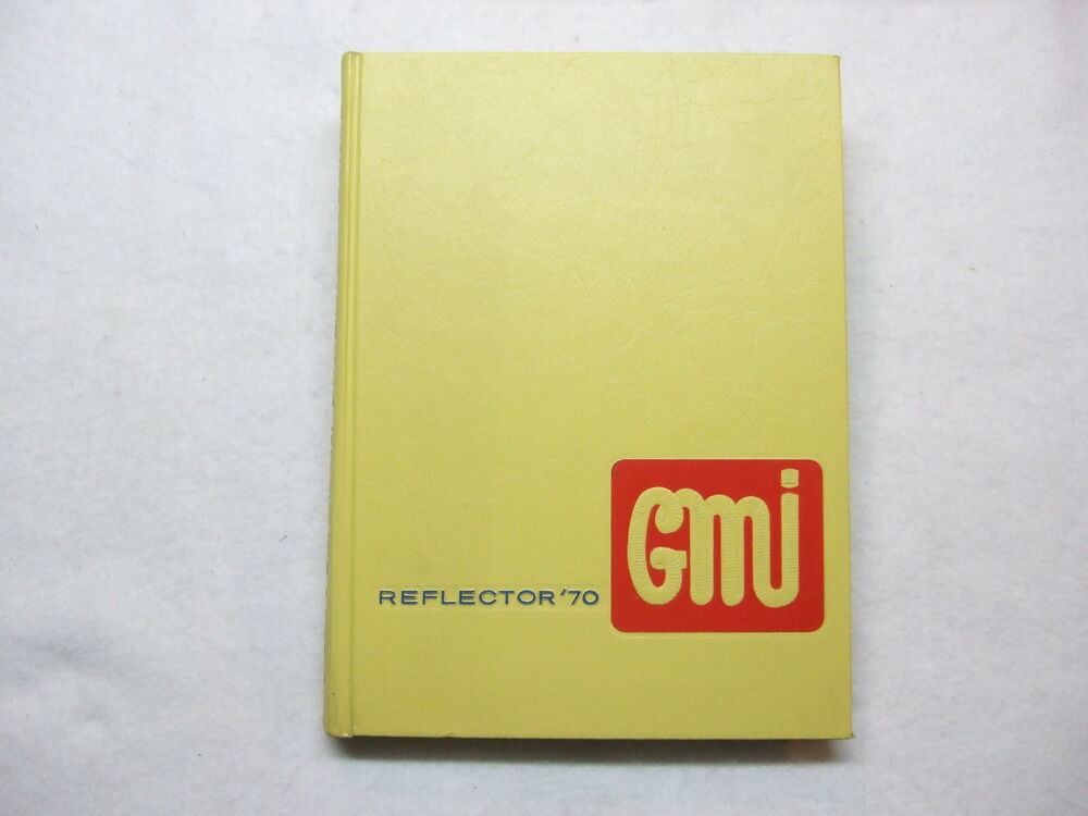 1970 general motors institute yearbook the reflector flint mi michigan. Cars Review. Best American Auto & Cars Review