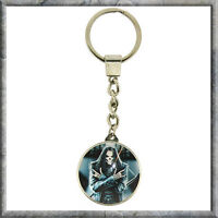 GOTH ROCKER SKULL KEYRING FROM NEMESIS NOW  NOW7201