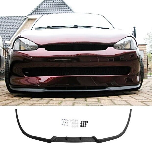 vauxhall opel corsa b mk2 2 front bumper cup chin spoiler lip splitter valance ebay. Black Bedroom Furniture Sets. Home Design Ideas