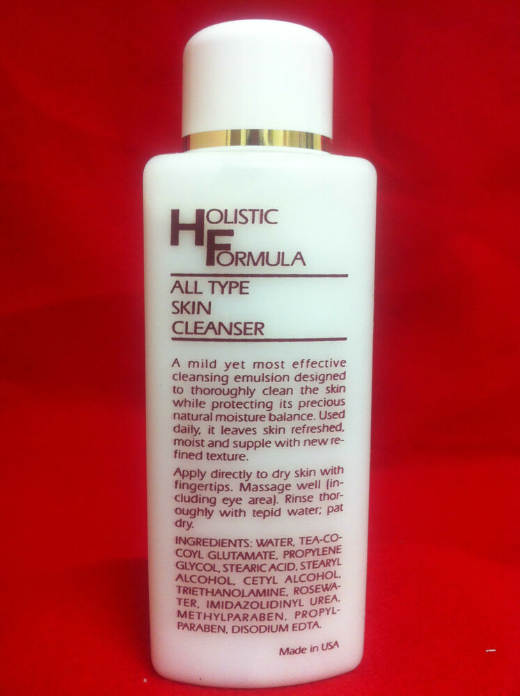 Natural Organic Face Cleanser For All Skin Types