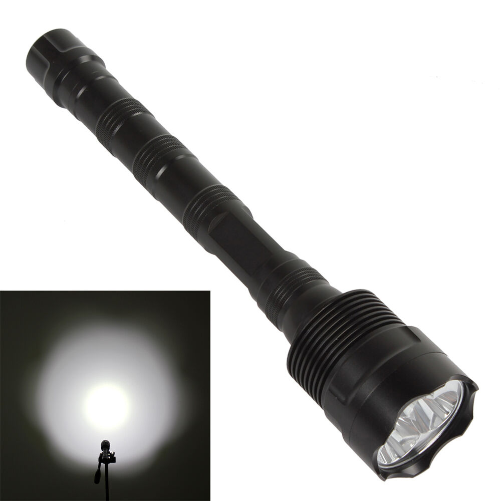 Outdoor 3X CREE XM-L T6 LED 3800LM Lumens LED Flashlight ...
