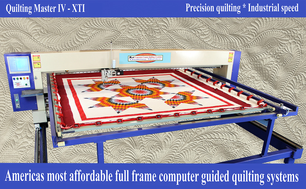 New Quilting Master Iv Xti Computer Guided Full Frame