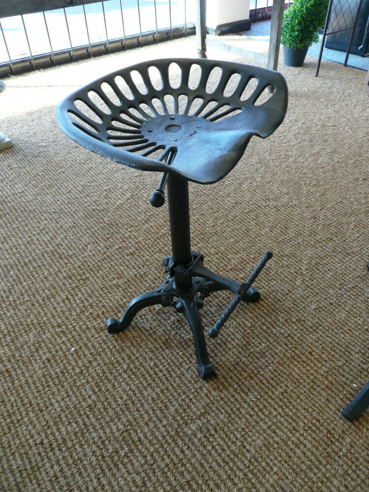 Tractor Seat Stool Industrial Chair Seat Breakfast Bar