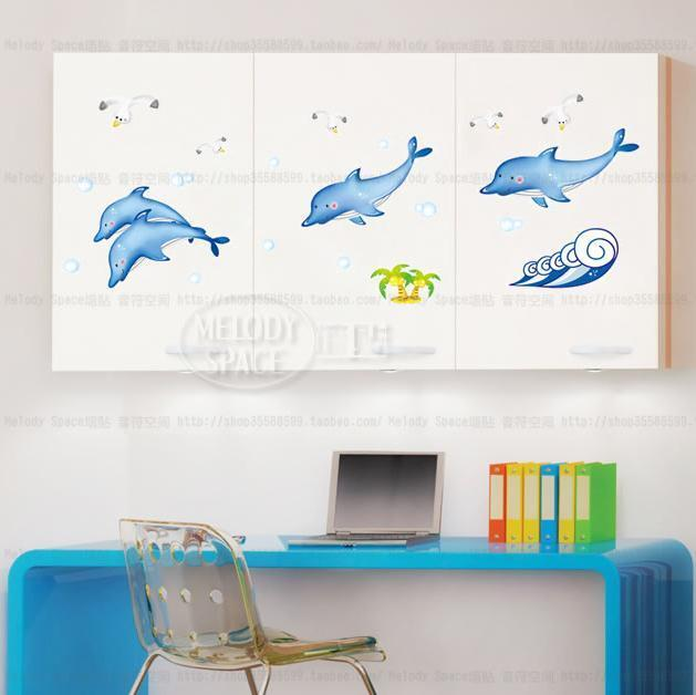 Http Www Ebay Com Itm Baby Dolphins Home Decor Removable Wall Sticker Decal Decoration 320989762209