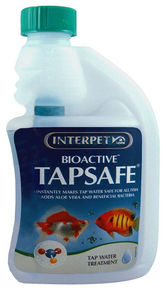 Interpet bio active tap safe 500ml aquarium fish tank for How to make tap water safe for fish