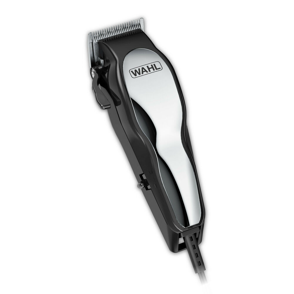 professional haircut kit wahl chrome pro haircutting kit hair cut clipper hq self 3771
