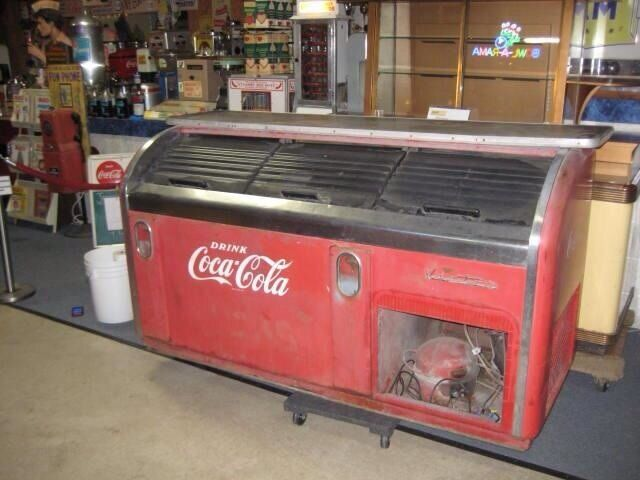 1950 39 s victor c 31 3 door coke cooler ebay for 1 door retro coke cooler