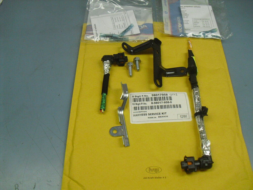 2004 2005 lly injector harness repair kit duramax 98017958 ... 2004 ford freestar wiring harness lly wiring harness