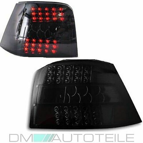 vw golf 4 iv full led rear lights black edition tail lights mk4 97 03 led full ebay. Black Bedroom Furniture Sets. Home Design Ideas
