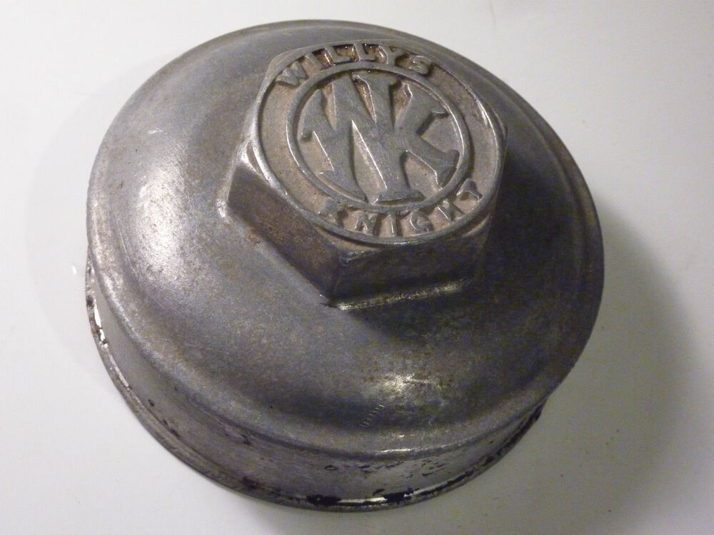 Wk Willys Knight Grease Cap Dust Cover Wheel Center Cap