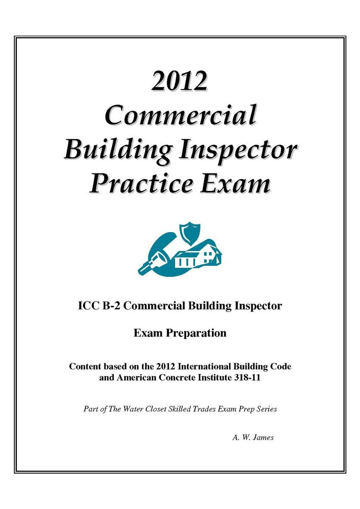 2012 Icc Commercial Building Inspector Practice Exam On Usb Flash