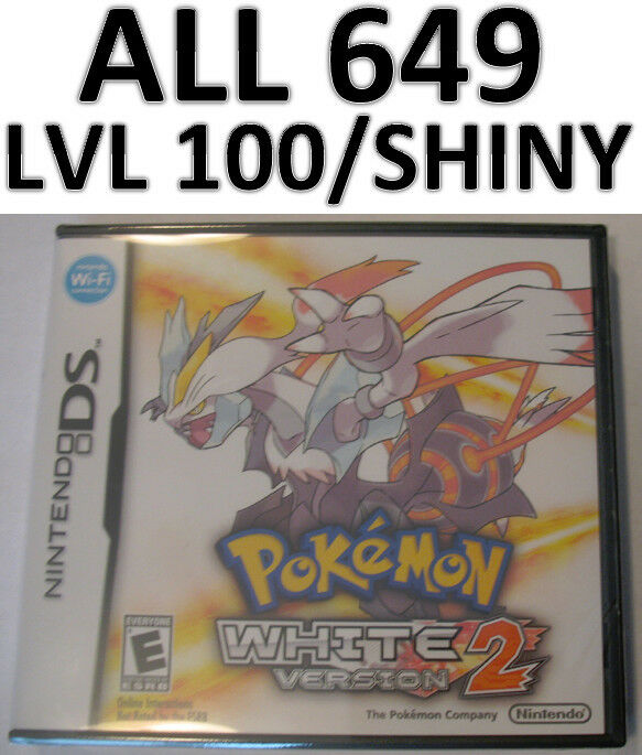 how to get shiny pokemon in white 2