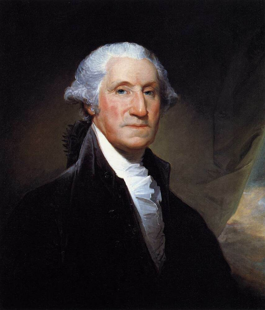 history of george washington as united states president Discover the story behind george washington's definitive portrait examine gilbert stuart's unforgettable portrait, which captures the spirit of this victorious general, stalwart leader, and pioneering president of the united states of america.
