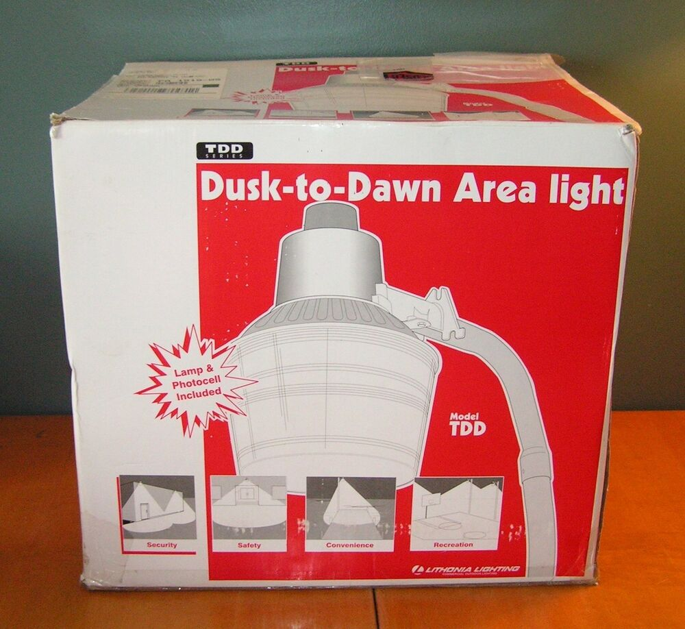 Dusk To Dawn Mercury Vapor Light: Lithonia TDD175MV 175 Watt Mercury Vapor Dusk To Dawn