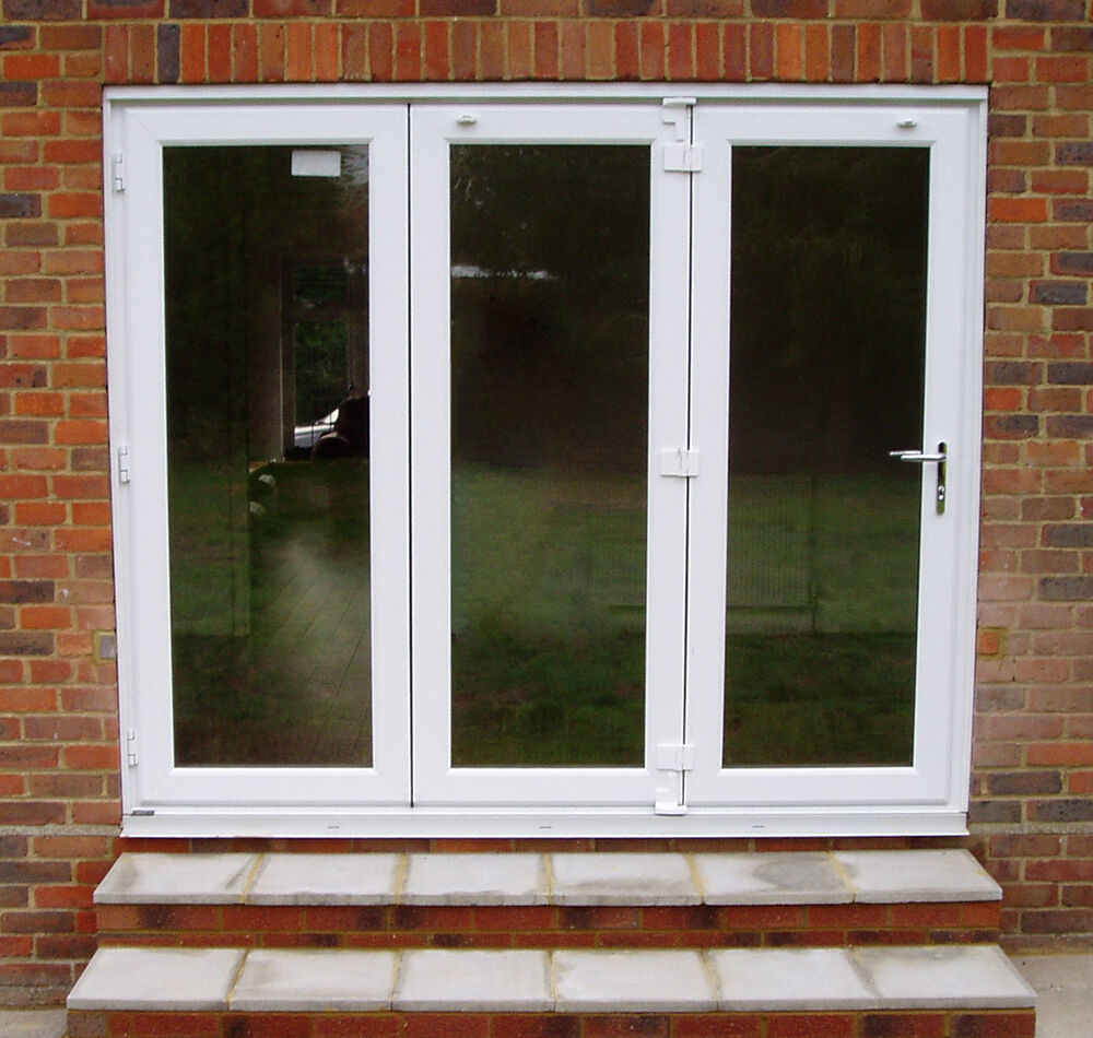 Upvc bi fold folding doors made to measure on 27th not for Upvc folding doors