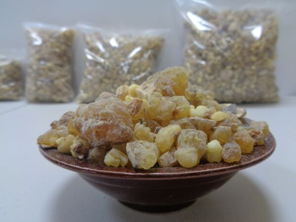 Pure FRANKINCENSE Resin Organic Gum Tears Aromatic Incense Olibanum -Choose Size