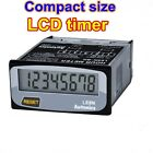 LCD Digital Timer Time Indicator LE8N-BF, Free voltage input , Run on battery
