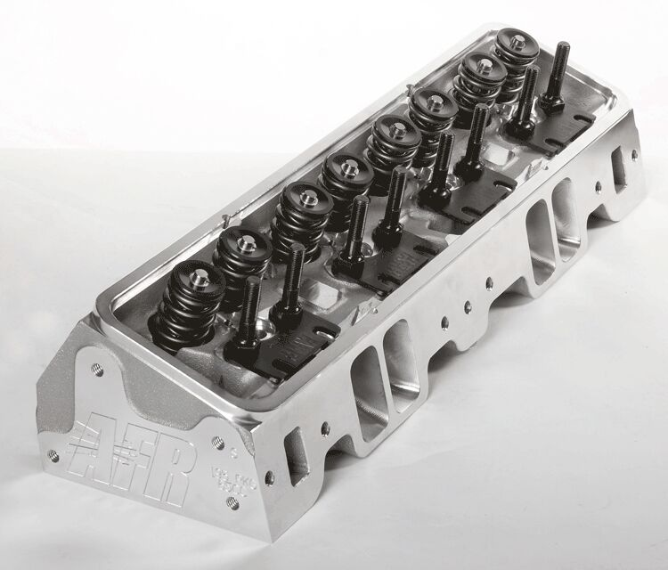 AFR SBC 220cc Aluminum Cylinder Heads CNC Ported Small