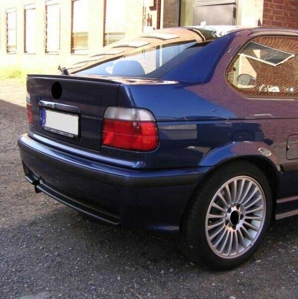 bmw e36 3 series compact rear boot trunk spoiler lip wing. Black Bedroom Furniture Sets. Home Design Ideas
