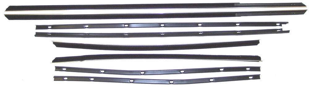 1967 Ford Galaxie 500 2 Dr Hardtop Fastback Window Sweep