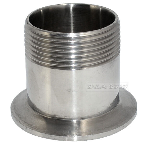Quot dn sanitary male threaded pipe fitting to tri