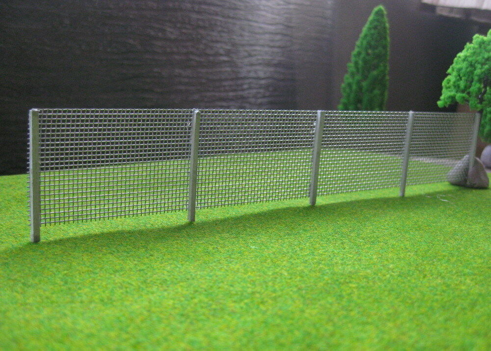 Lg meter model wire mesh fencing chain link oo