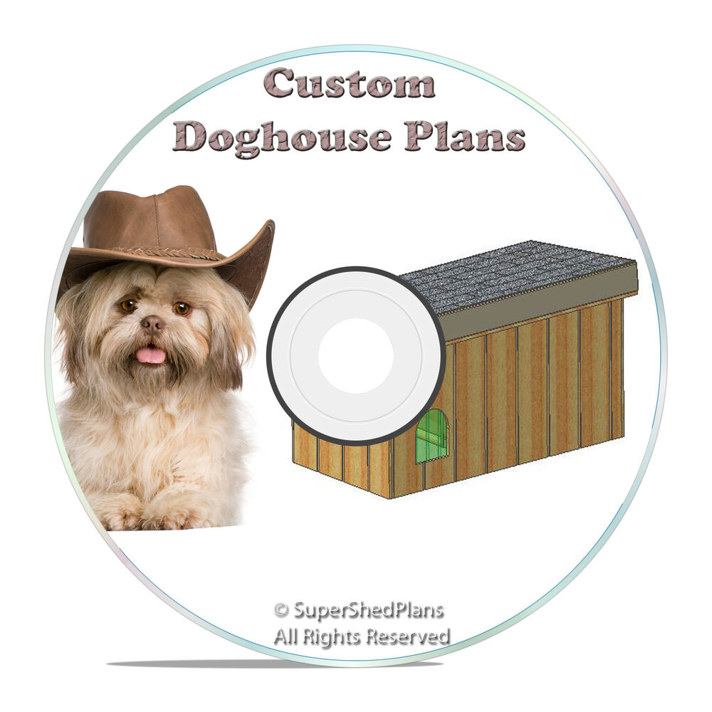 Insulated dog house plans large breed weatherproof w sundeck diy