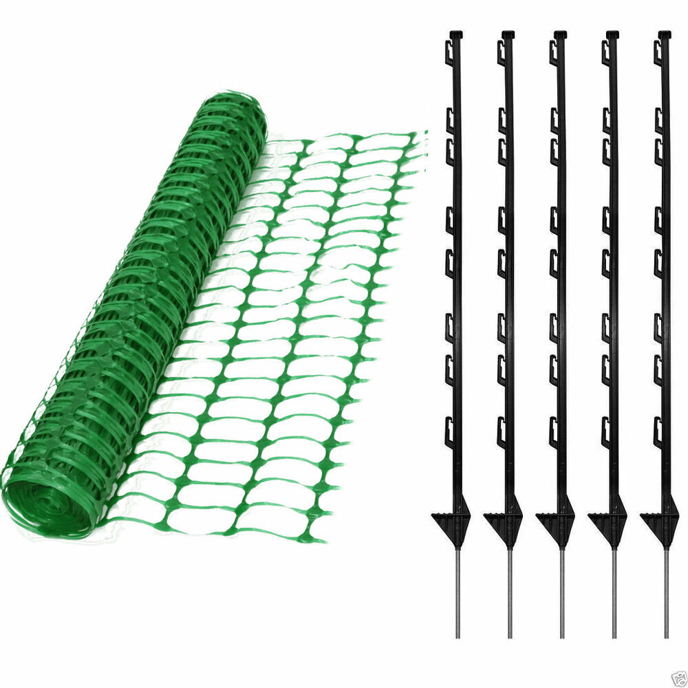 M green plastic mesh barrier safety event fence kg