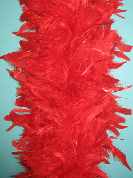 80 gram chandelle feather boa red 2 yards boas crafts ebay for Where can i buy feathers for crafts
