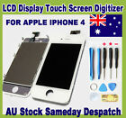White iPhone 4 4G Replacement LCD Digitizer Touch Screen Glass Assembly 3G/ wifi