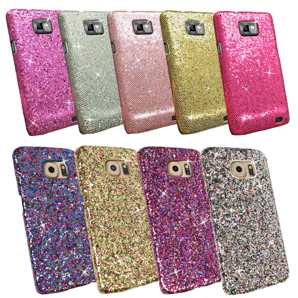 GLITTER SPARKLING SEQUIN TEXTURED COVER CASE FOR VARIOUS MOBILE PHONE ...