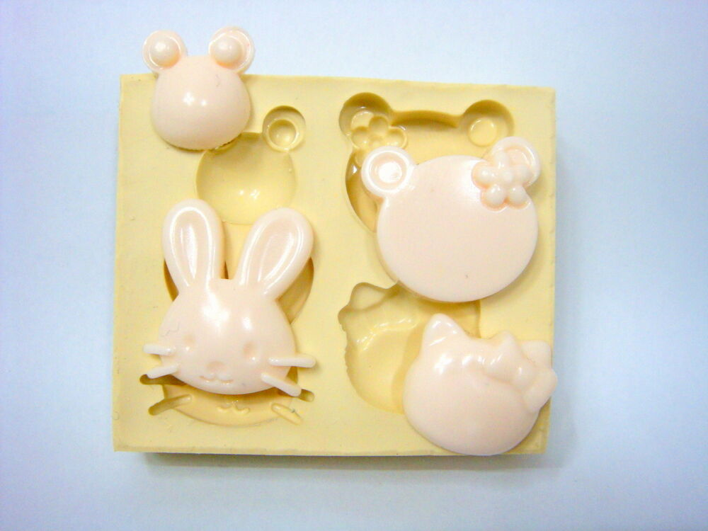Cake Decorating Animal Molds : Sugarcraft Molds,Silicone Mould,Clay, Soap,Cake ...