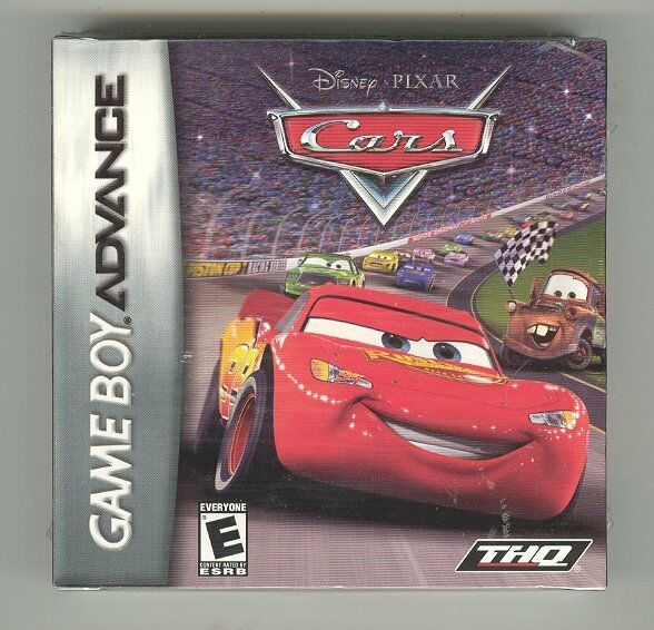 Disney Pixar CARS (Gameboy Advance) Sp Ds Game NEW