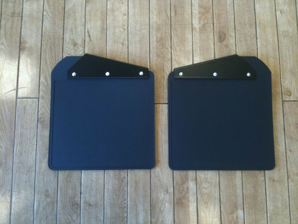 Genuine Land Rover Defender 90 110 130 Front Mudflaps