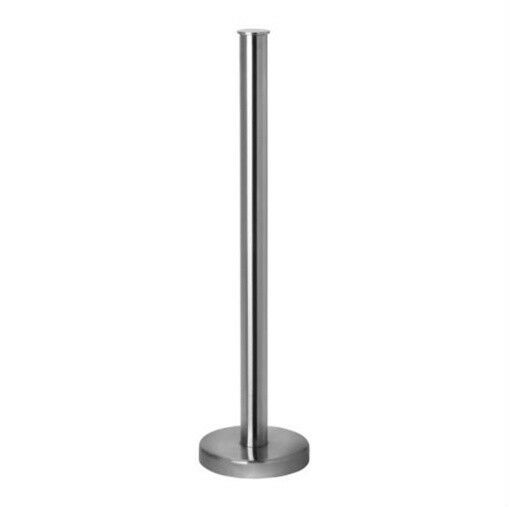 ikea toilet paper roll stand stainless steel bathroom tissue holder grundtal new ebay. Black Bedroom Furniture Sets. Home Design Ideas