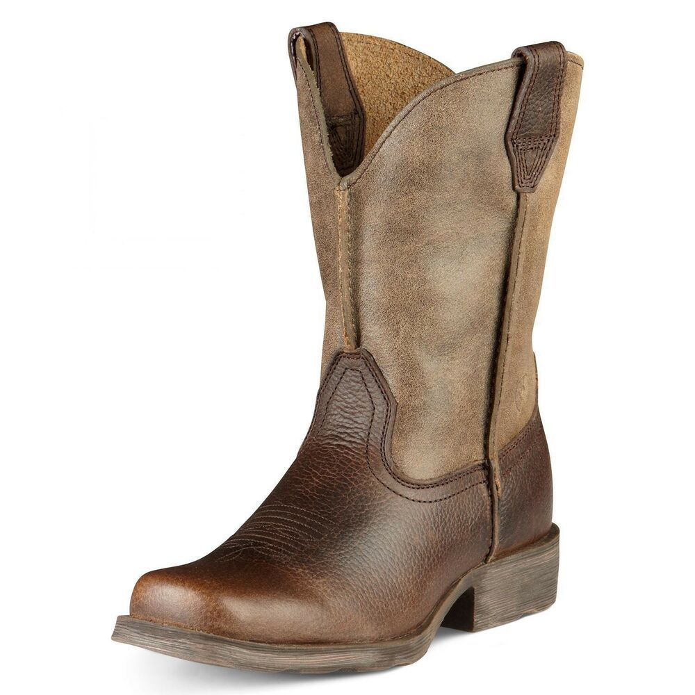 ariat youth rambler children s cowboy boot earth 10007602