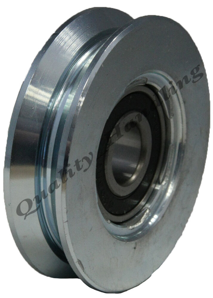 Sliding gate wheel pulley mm v groove steel