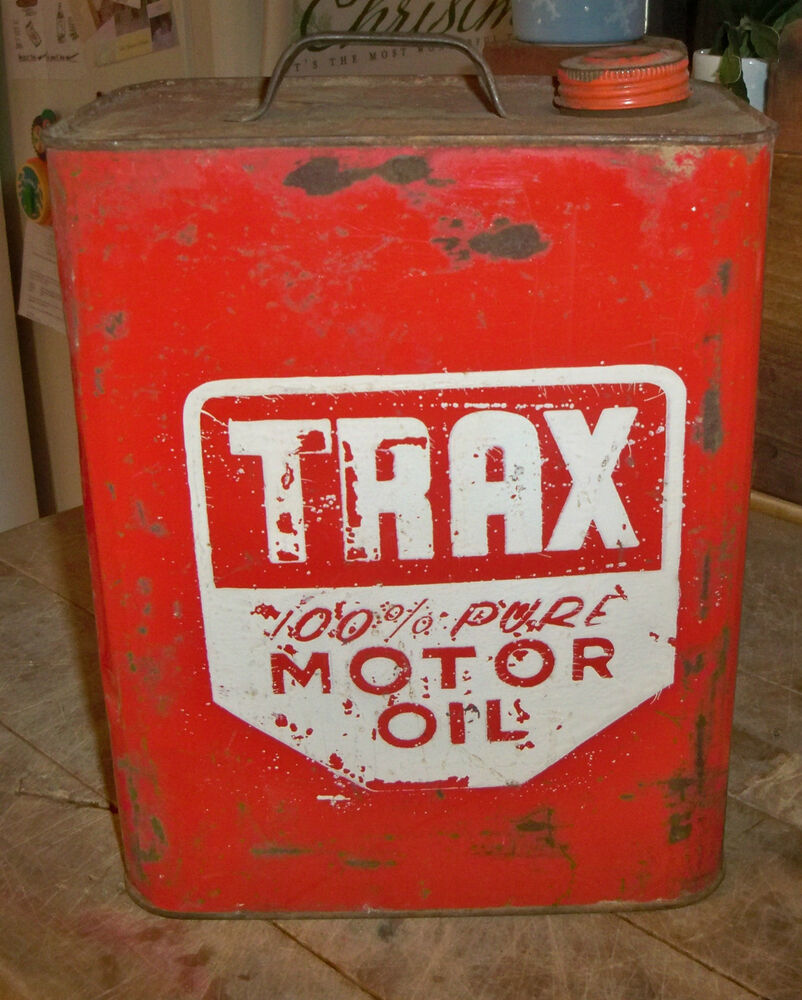 Vintage trax motor oil can couldn 39 t find another one for Where to buy motor oil
