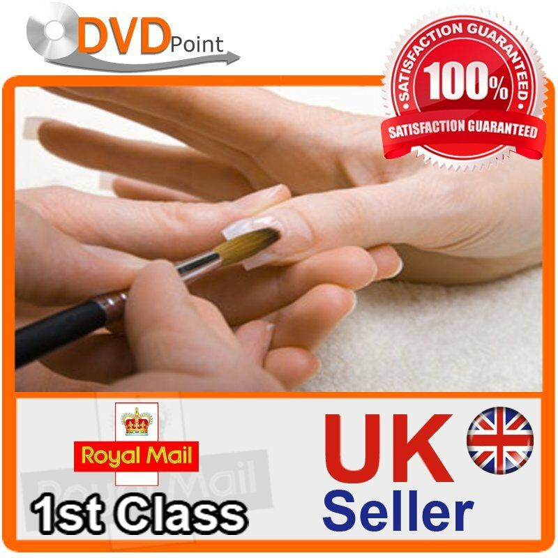 STEP BY STEP GUIDE FOR ACRYLIC NAILS DVD STARTER BEGINNERS