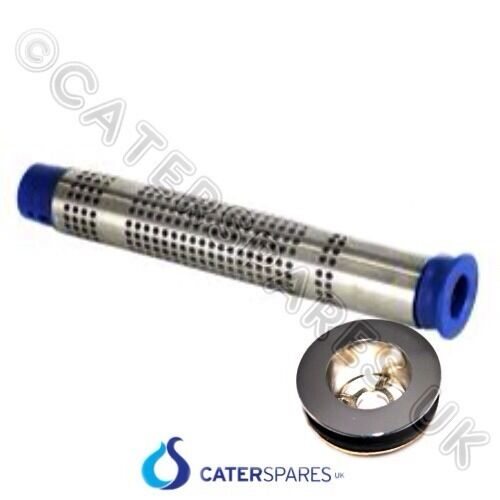 200mm Commercial Sink Waste Plug And Strainer Kit 70mm