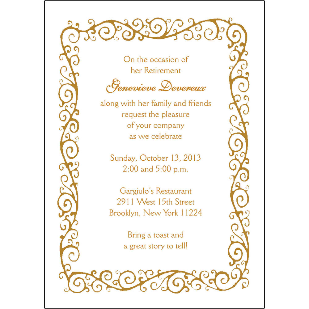 25 personalized retirement party invitations rpit 04 decorative