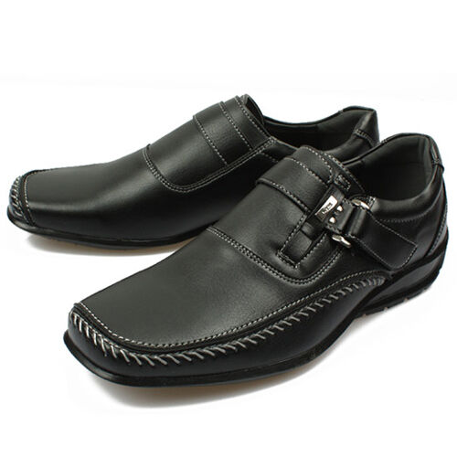 New Mens Band Loafers Casual Sneakers Shoes Black Novamall | eBay