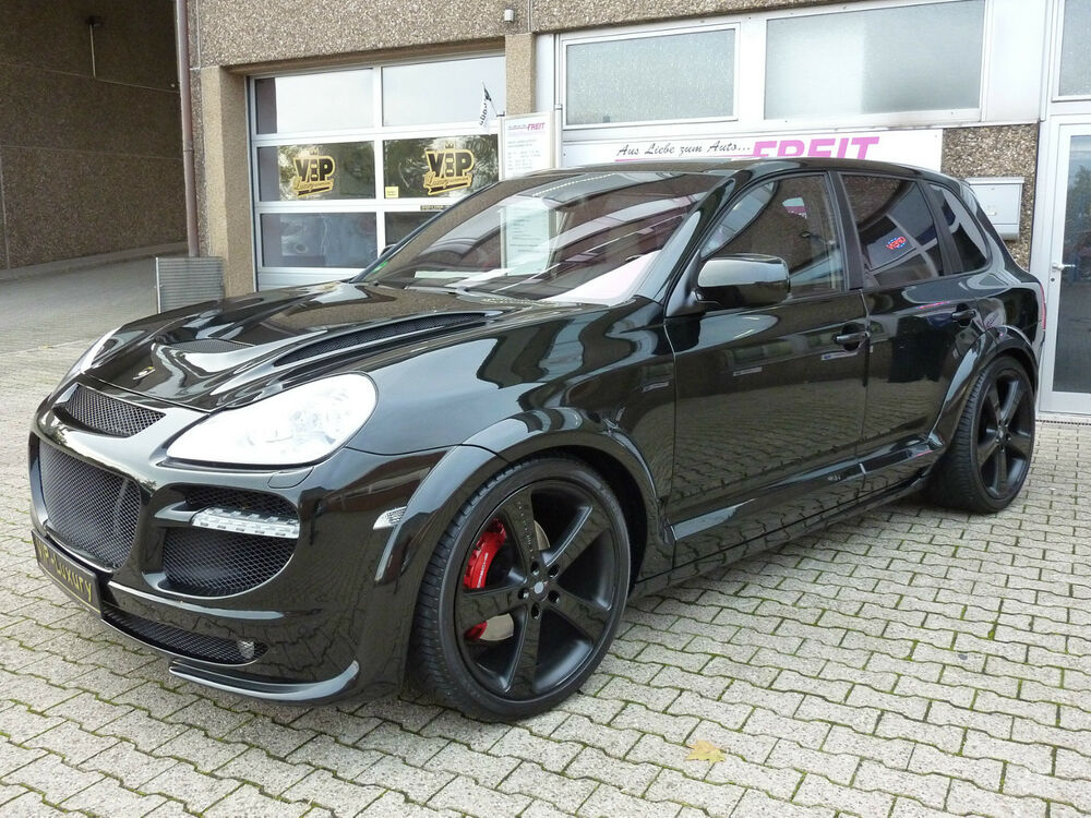 passend f r porsche cayenne turbo tieferlegung luftfahrwerk kein original ebay. Black Bedroom Furniture Sets. Home Design Ideas