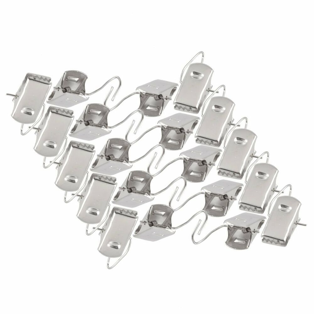 Stainless steel small curtain hanging bulldog clips