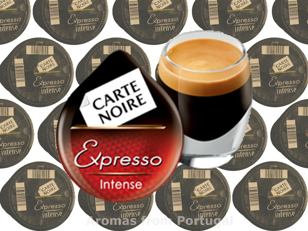 tassimo carte noire espresso intenso t discs capsules ebay. Black Bedroom Furniture Sets. Home Design Ideas
